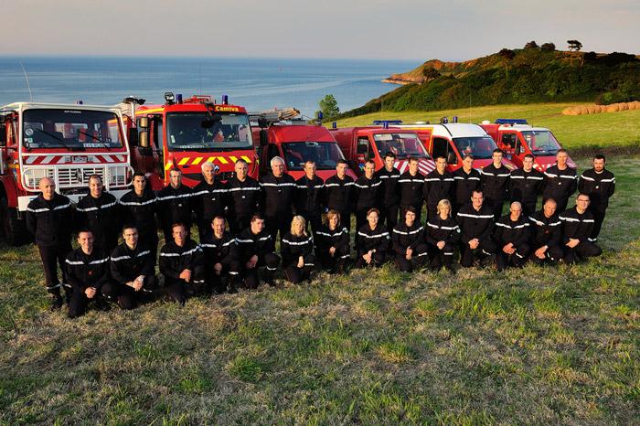 Photo des pompiers pour le calendrier - kerpixel / CC-by